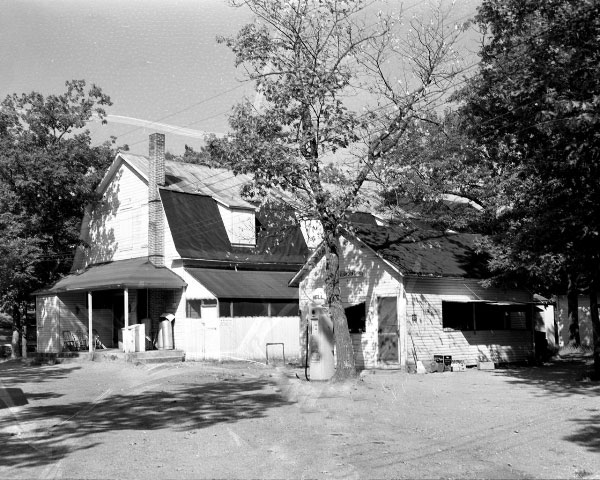 Historic Photo of Camp Cleghorn Store
